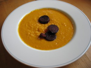 Carrot-Parsnip Soup