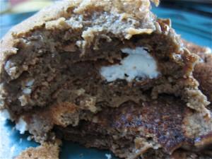 Ricotta in Tiramisu Pancakes